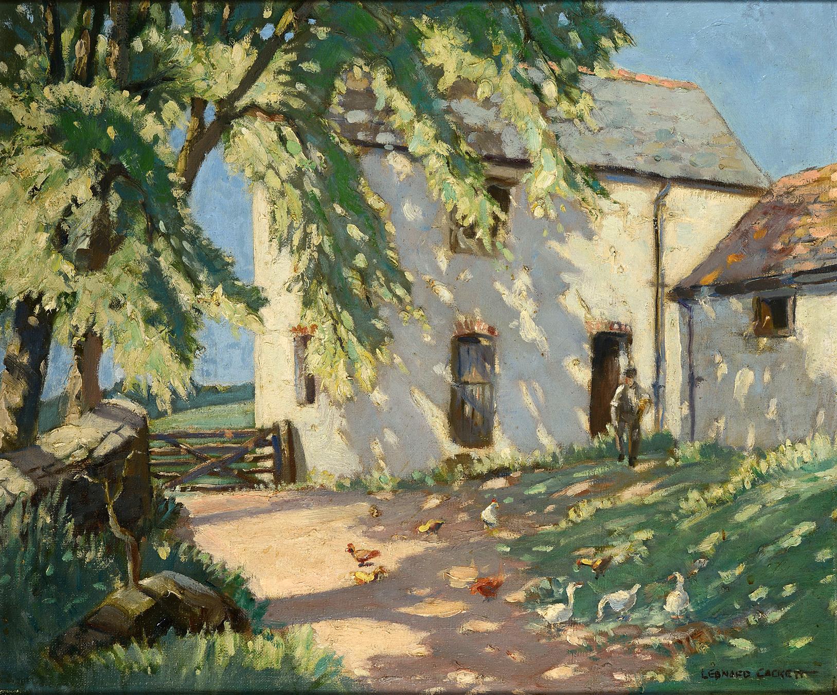 CACKETT LEONARD Babbington Fine Art